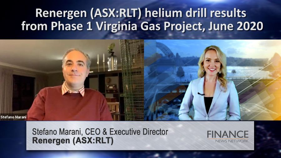 Renergen (ASX:RLT) helium drill results from Phase 1 Virginia Gas Project