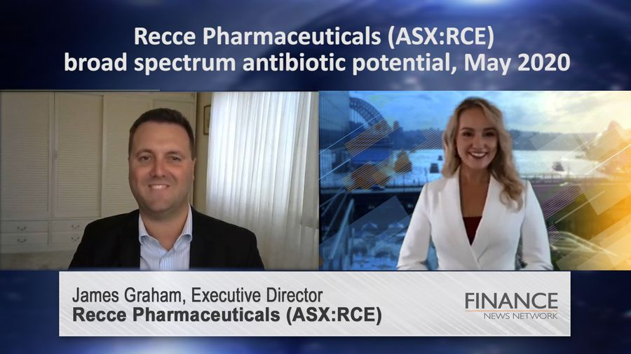 Recce Pharmaceuticals (ASX:RCE) broad spectrum antibiotic potential