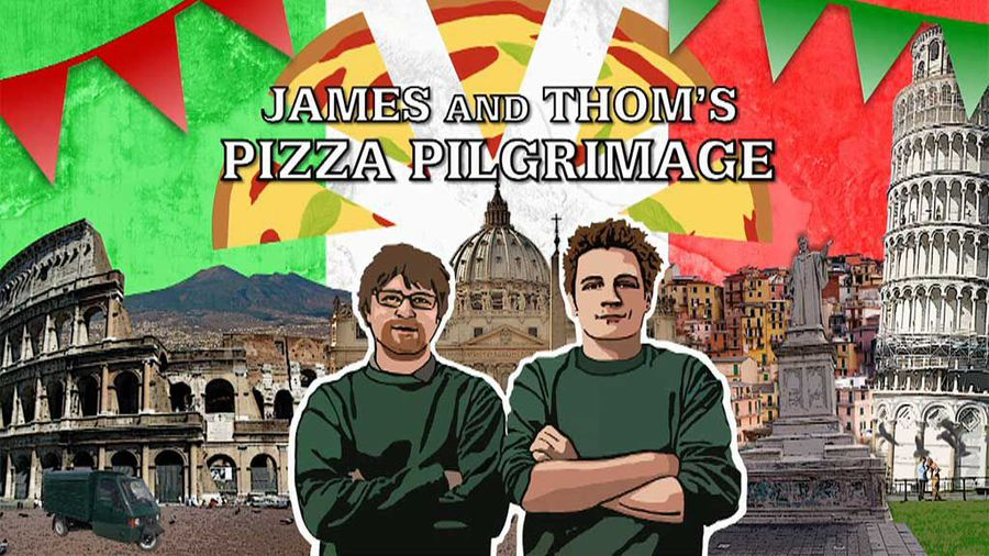 James and Thom's Pizza Pilgrimage