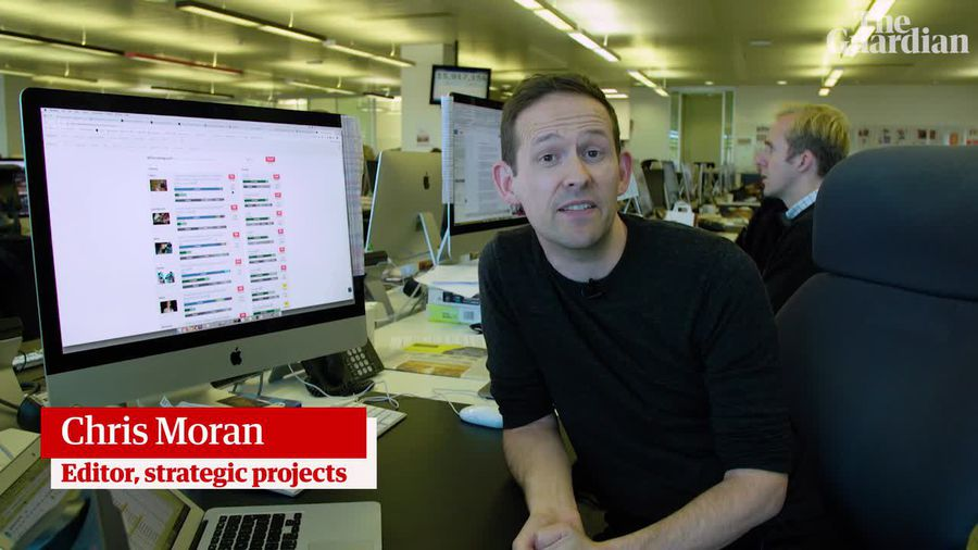 What do news websites know about who is reading articles? Chris Moran tells us about his role