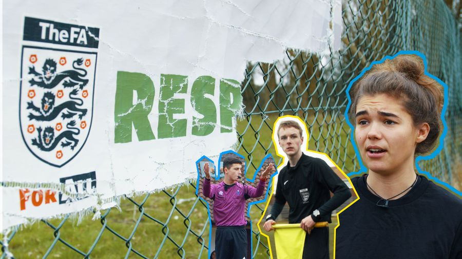 Blood, sweat and fears: special report on abuse towards grassroots football referees