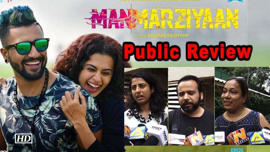 Manmarziyaan Public Review | Vicky-Taapsee-Abhishek's Love Triangle