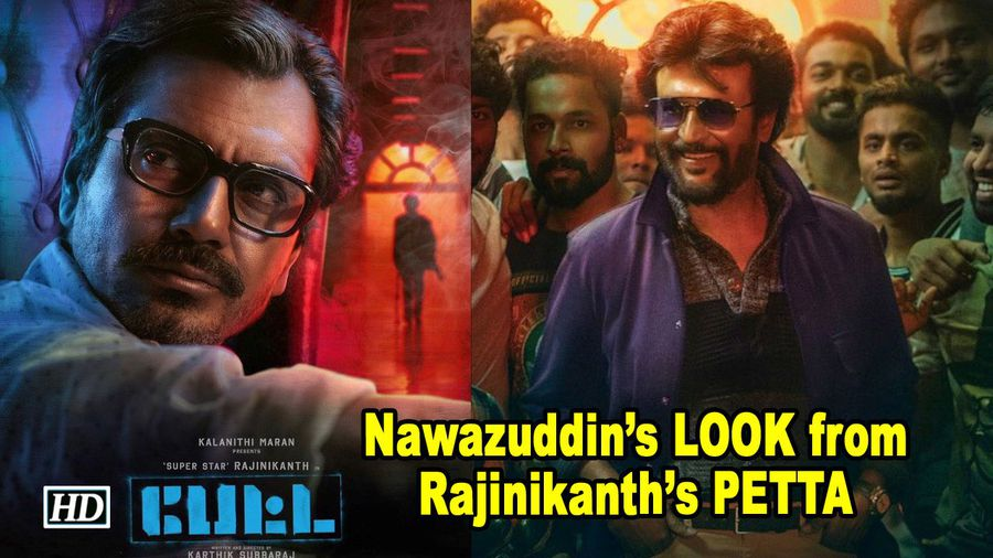 Nawazuddins LOOK from Rajinikanths PETTA | Nawazs Tamil Debut