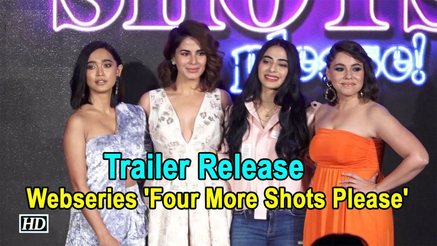 Trailer Release | Webseries 'Four More Shots Please'