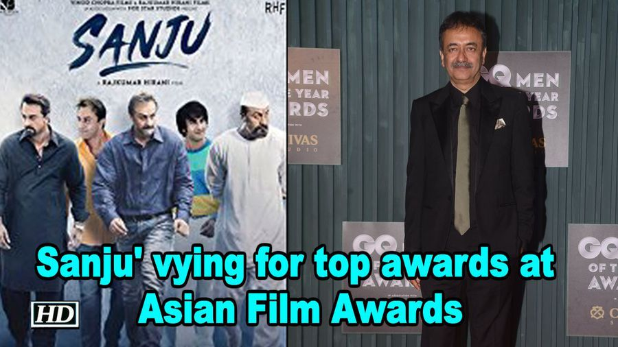 'Sanju' vying for top awards at Asian Film Awards