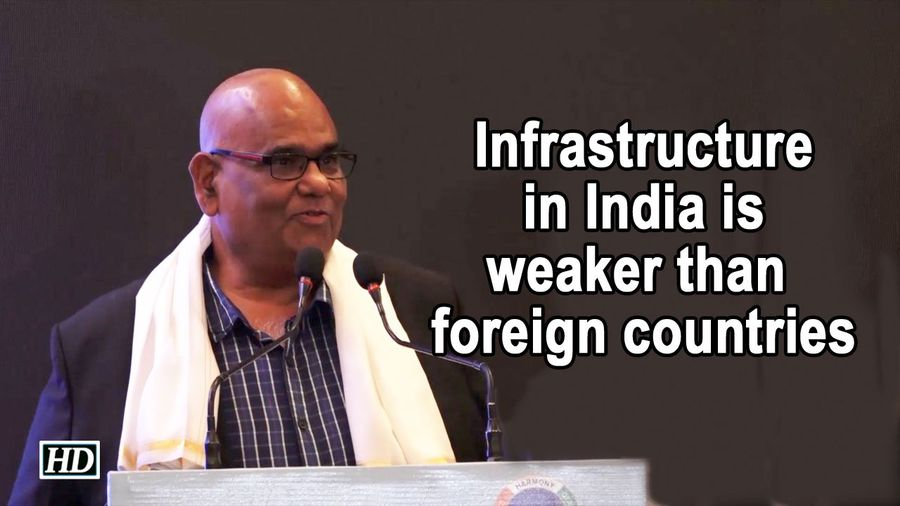 Infrastructure in India is weaker than foreign countries, says Satish Kaushik