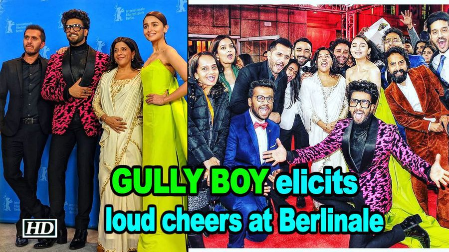 Gully Boy elicits loud cheers at Berlinale