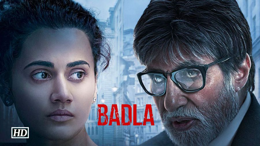 Shah Rukh unveils FIRST LOOK of BADLA Taapsee Amitabh