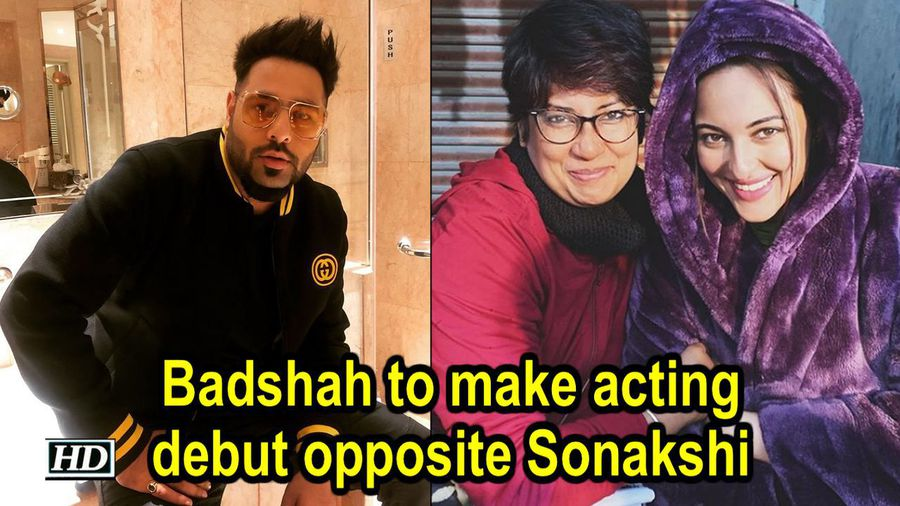 Rapper Badshah to make acting debut opposite Sonakshi Sinha