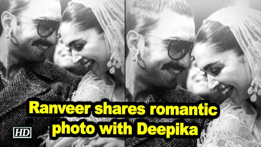 Ranveer shares romantic photo with deepika