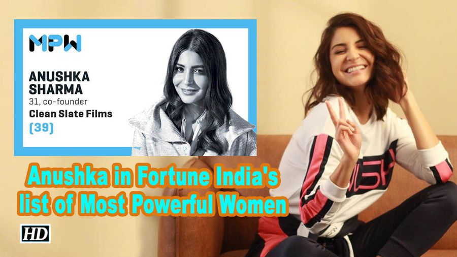 Anushka sharma in fortune indias list of most powerful women