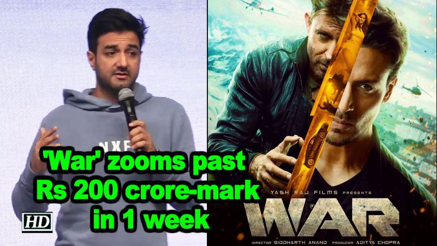War zooms past rs 200 croremark in 1 week
