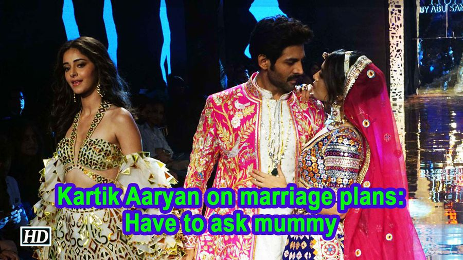 Kartik aaryan on marriage plans have to ask mummy