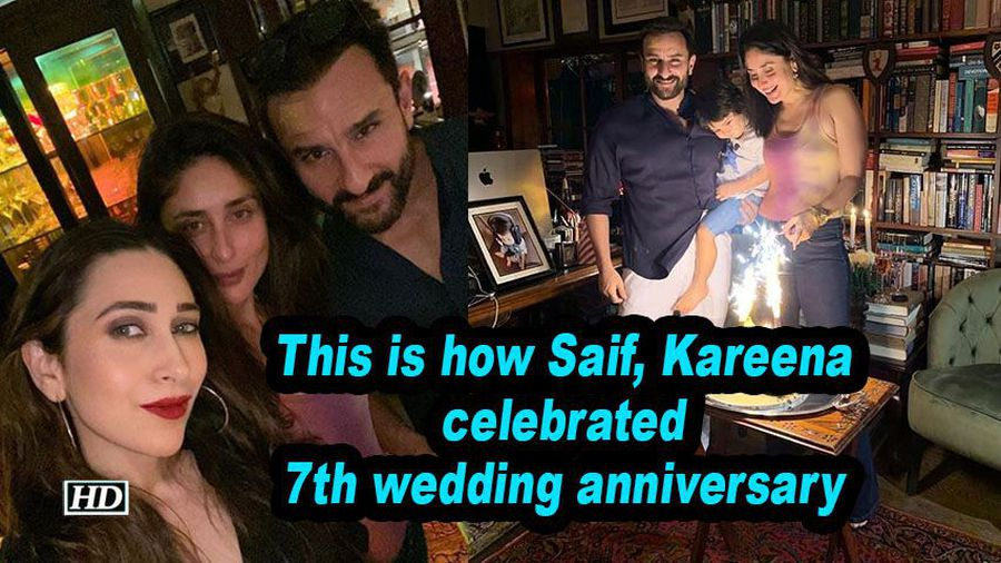 This is how saif kareena celebrated 7th wedding anniversary