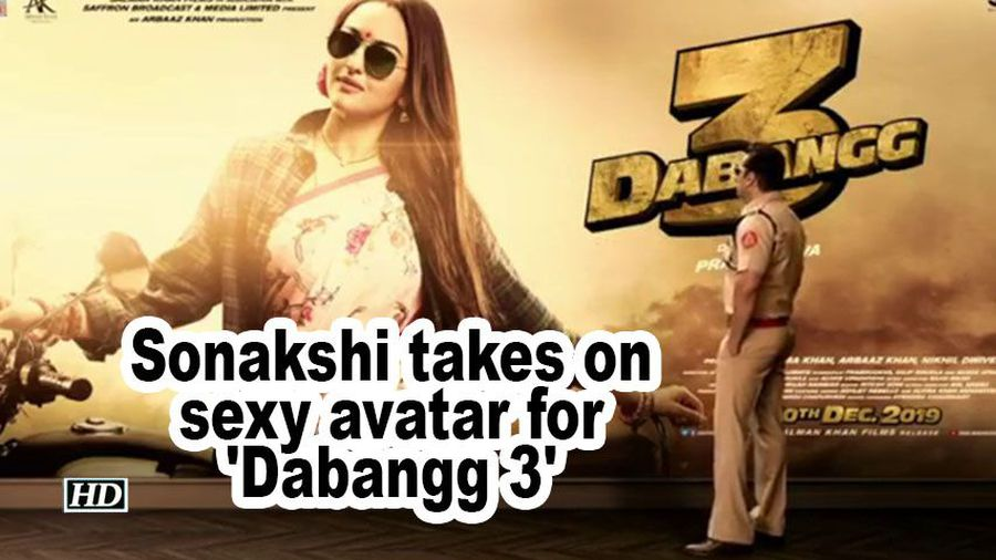 Sonakshi sinha takes on sexy avatar for dabangg 3