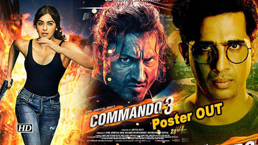 Vidyut jammwal shares dream team of commando 3 characters revealed
