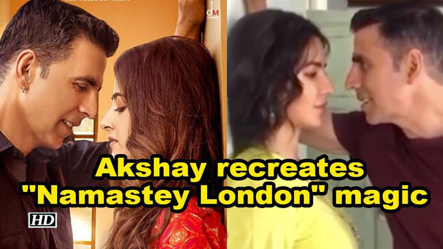 Akshay recreates Namastey London magic on Sooryavanshi sets