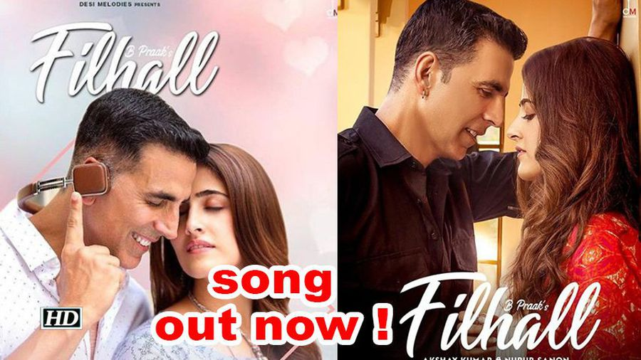 Akshay Nupur starrer 'Filhal' song out now !