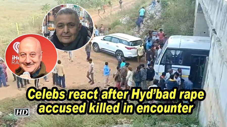 Celebs react after hyderabad rape accused killed in encounter