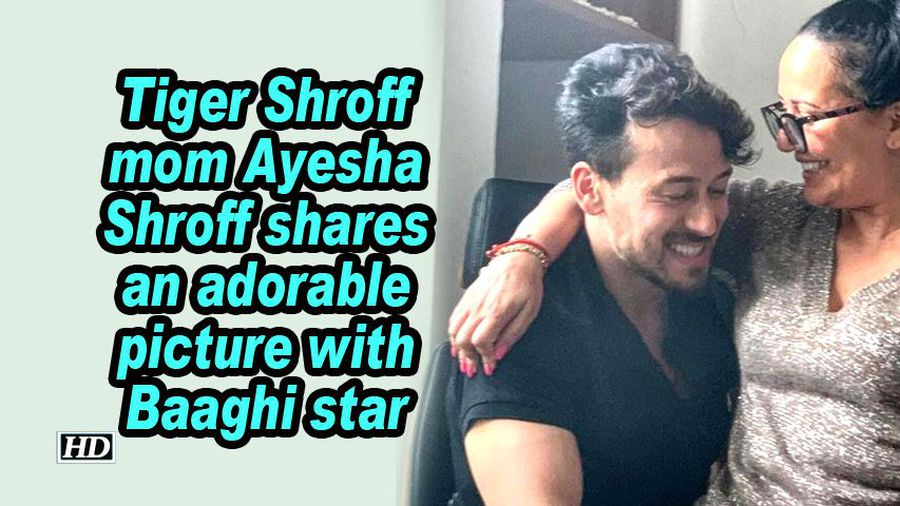 Tiger shroff mom ayesha shroff shares an adorable picture with baaghi star