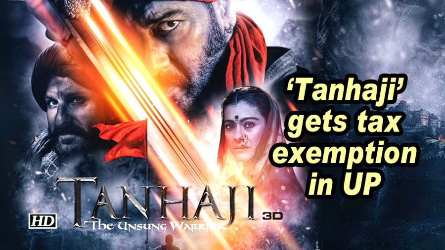 Tanhaji gets tax exemption in up