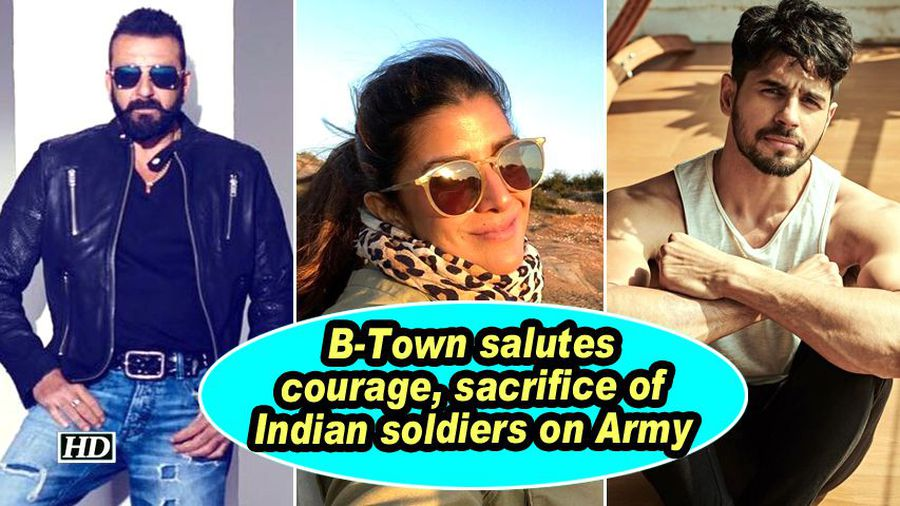 B town salutes courage sacrifice of indian soldiers on army day