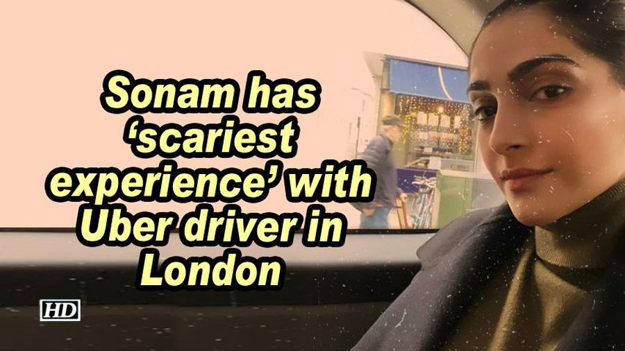 Sonam has scariest experience with uber driver in london