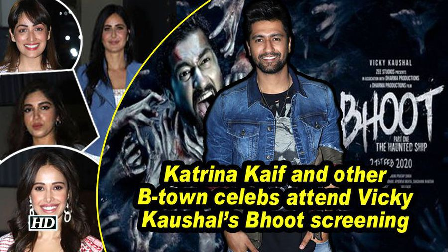 Katrina Kaif and other B-town celebs attend Vicky Kaushal's Bhoot screening