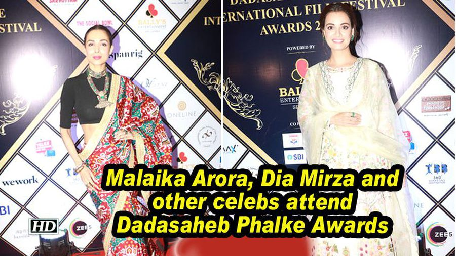 Malaika Arora, Dia Mirza and other celebs attend Dadasaheb Phalke Awards