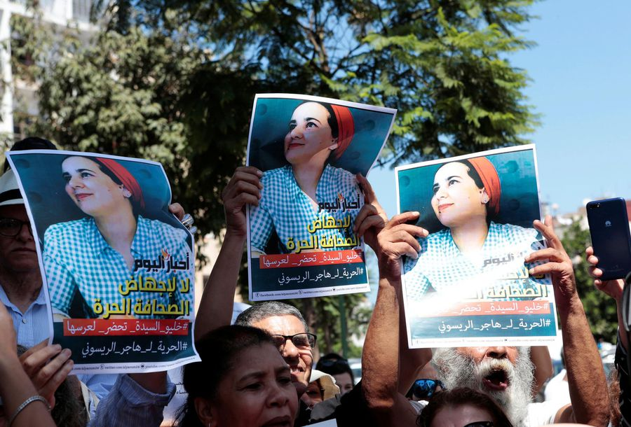Moroccan journalist held for alleged abortion pardoned