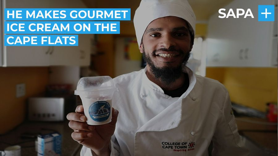 Entrepreneur turns down a life of gangsterism to making gourmet ice cream