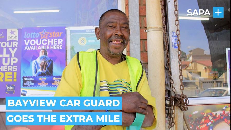 Rajen Govender the car guard from Germiston who goes the extra mile