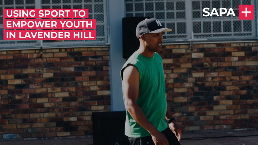 He flew back home to the Cape Flats to empower the youth