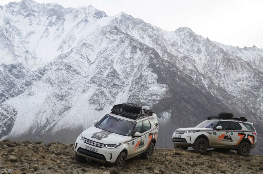 Holgate team tackles southern Africa's toughest mountain passes