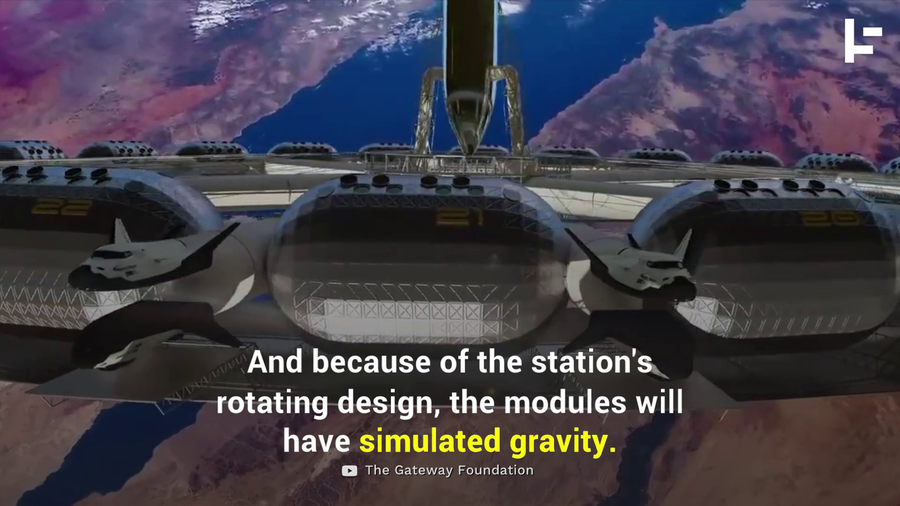 Here's What the First Space Hotel Will Look Like?