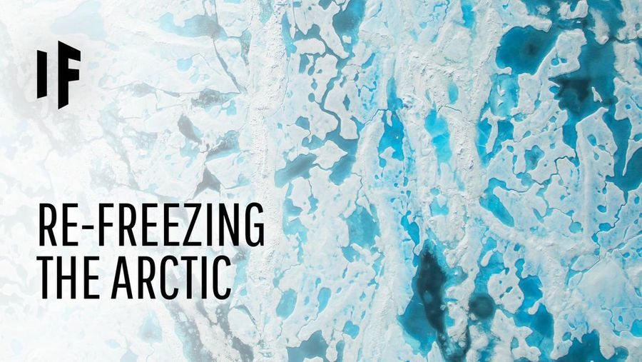 What If We Could Refreeze the Arctic?