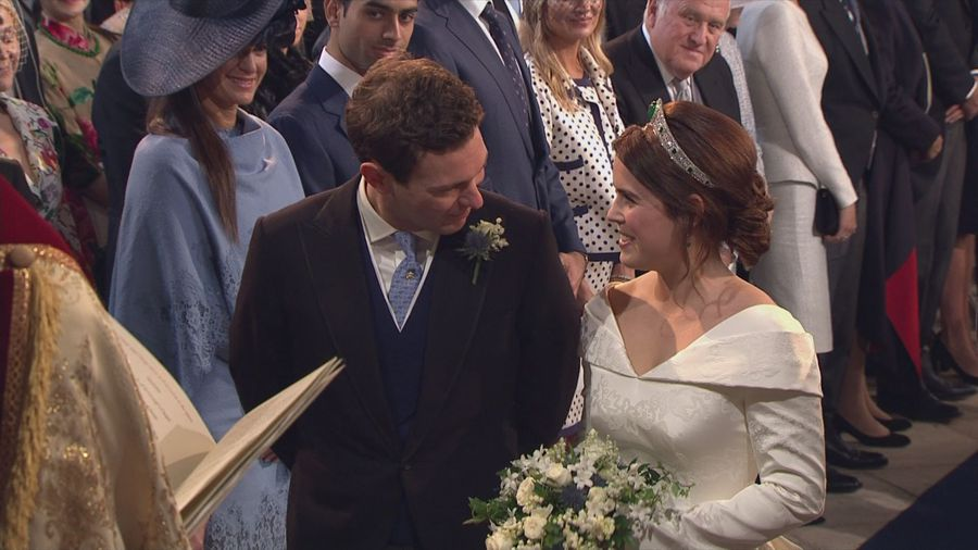 Princess Eugenie and Jack Brooksbank tie the knot