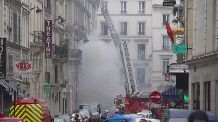 Powerful explosion causes multiple injuries in Paris bakery