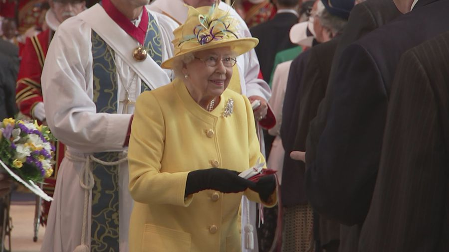 Queen attends annual Royal Maundy Service in Windsor