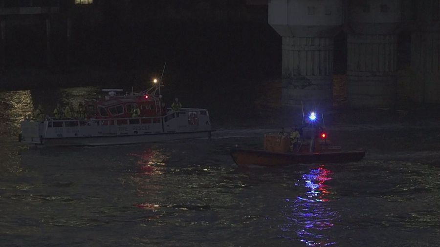 1989 Marchioness disaster remembered on the river Thames
