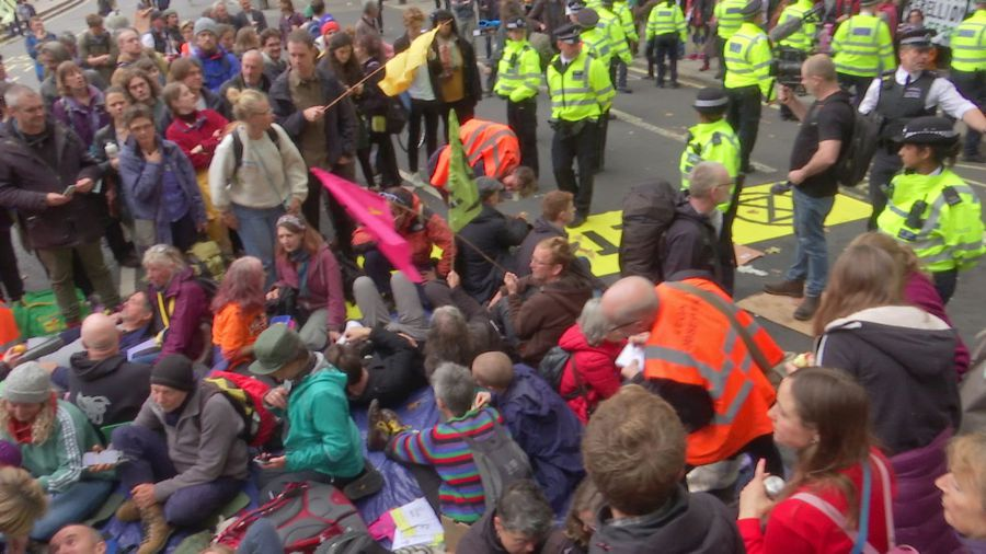 Extinction Rebellion ramp up protests in London