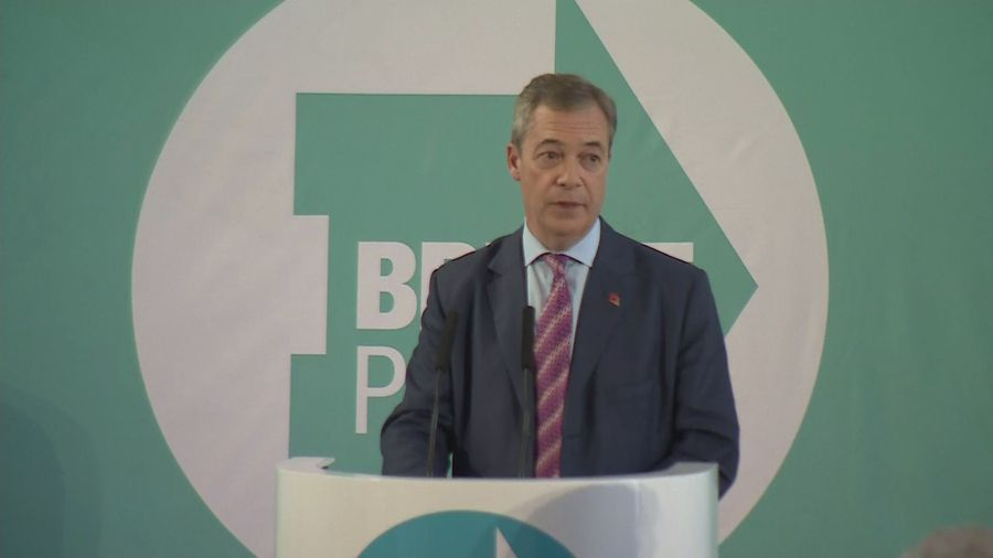 Brexit Party won't contest seats won by Tories in 2017
