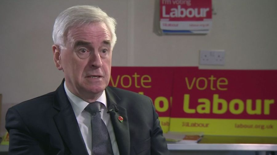 McDonnell: 'No one can be pleased with GDP figures'