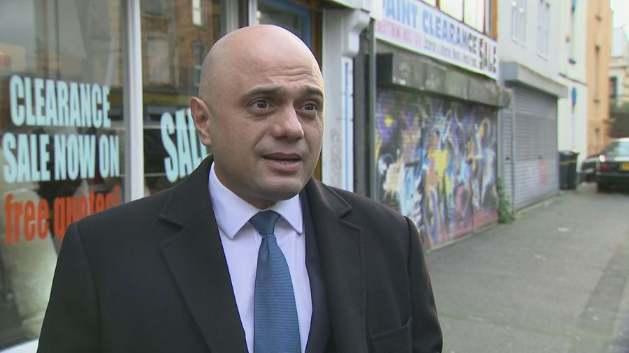 Javid: Labour will leave big black hole in nation's finances