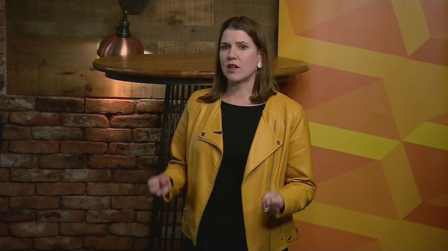 Swinson: Many people despair over two-party politics