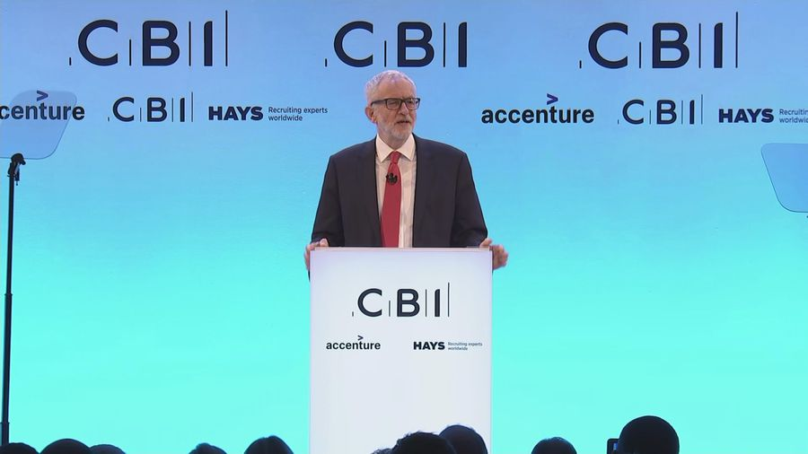 Corbyn not making any apologies for nationalisation plans