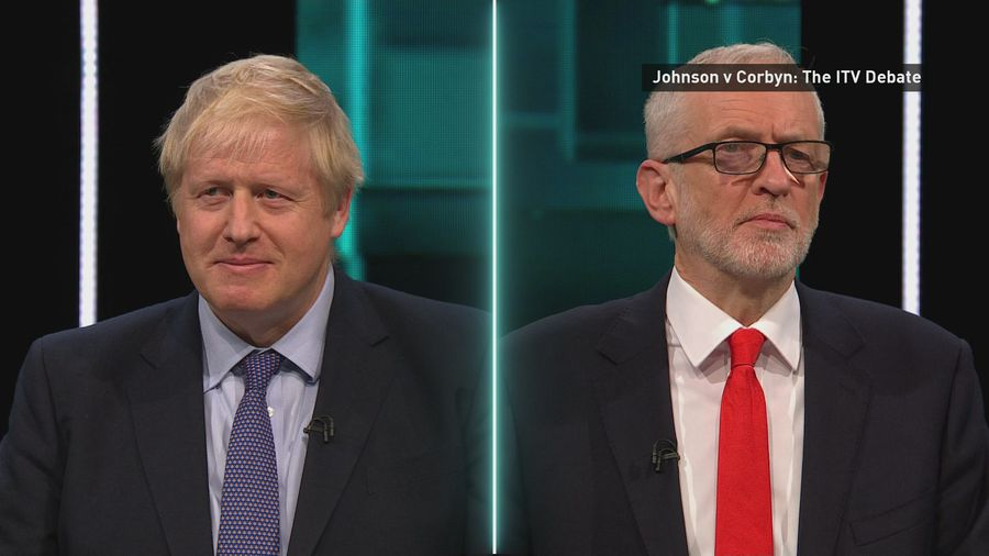 Johnson and Corbyn clash in election debate