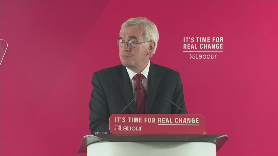 John McDonnell on Labour's first 100 days in office
