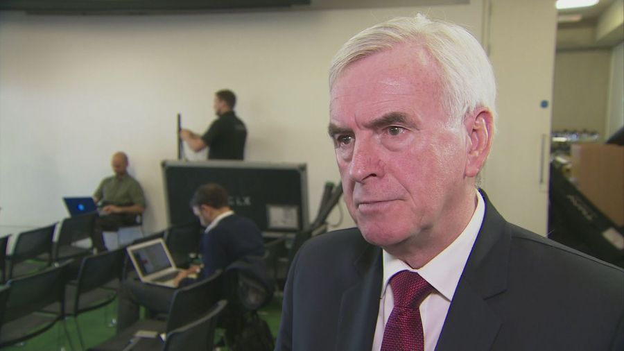 John McDonnell on tactical voting
