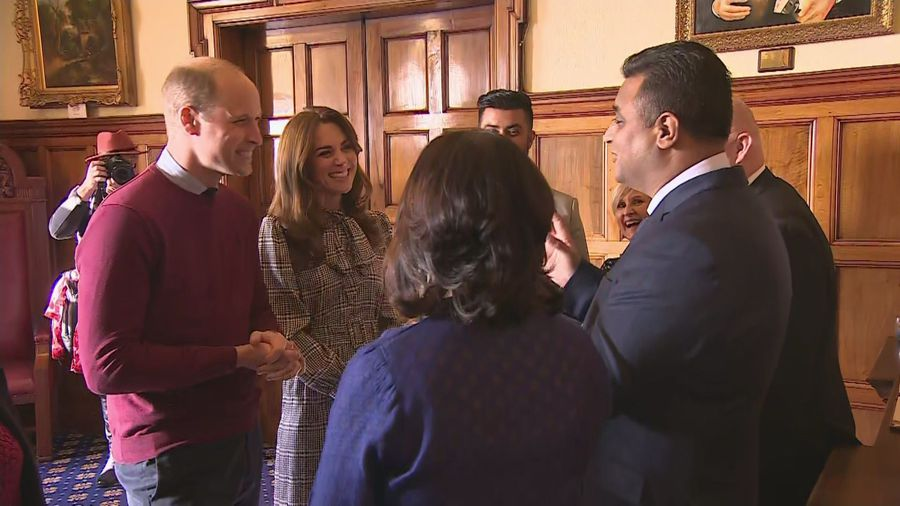 Duke and Duchess of Cambridge visit Bradford City Hall